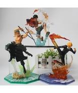 Anime ONE PIECE Collect Figurine Monkey D Luffy Zoro Sanji  PVC Model Ki... - $22.99+