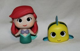 New Funko Mystery Minis Disney Ariel Flounder 2 Pce The Little Mermaid P... - $19.79