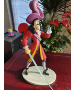 Extremely Rare! Walt Disney Peter Pan Captain Hook Standing Figurine Statue - $247.50