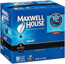 Maxwell House Pods Original, K-Cups, 6.2 oz, 18 Count - $19.32