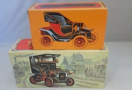 2 VINTAGE AVON DECANTERS ELECTRIC CHARGER & 1906 REO DEPOT WAGON - $3.50