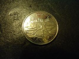1999 CANADIAN QUARTER COIN           >> USA SELLER  - $2.48