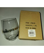 Stemless Toasting Wine Glass Gift For Wedding Party Bridesmaid 2 Pack - $19.80