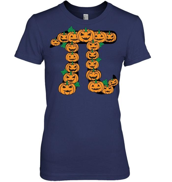 Funny Pumpkin Pi Halloween Joke T Shirt