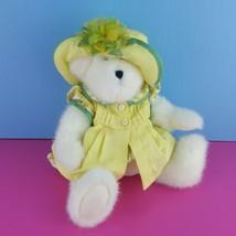 "Boyds Bears Sweetie McLemon 12"" Plush Bear #904281 Retired Stuffed Tags Yellow  - $59.40"