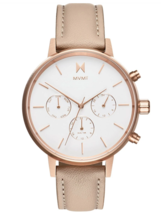 MVMT Nova Luna 38MM Women's Rose Gold Analog Watch Chronograph FC01-RGNU - $149.95
