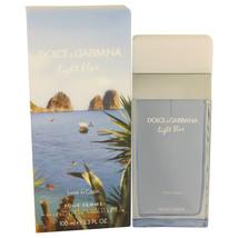 Light Blue Love in Capri by Dolce & Gabbana Eau De Toilette  3.4 oz, Women - $59.89