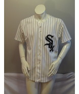 Chicago White Sox Jersey (VTG) - Home White Pin Stripe by Rawlings - Siz... - $95.00