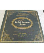 The Basic Library Of The World's Greatest Music No. 4 Record Album  - $5.00