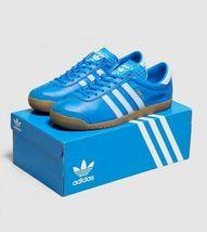 adidas Originals Zurich Blue / White  Mens Leather Trainers image 3