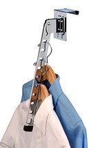 Honey-Can-Do Over-The-Door Collapsible Clothes Hanger, Chrome - $15.79