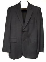 Jack Victor Montreal Sport Coat Jacket Blazer Loro Piana Wool Gray 2 But... - $49.49