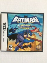 Batman: The Brave and the Bold - The Video Game (Nintendo DS, 2010) CIB ... - $11.87