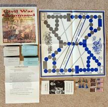 Civil War Command 800 Question Trivia Game Tomahawk Games Pawns Flags Ma... - $26.99