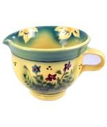 Aldrich Valley Pottery creamer pitcher wildflow... - $25.00