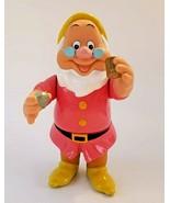 "1992 Mattel Disney Snow White Seven Dwarfs DOC Color Changing 6"" Tall - $7.20"