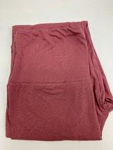 Mauve, One Size, 92% Polyester/8% Spandex Women's Leggings - $6.85