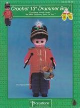 Drummer Boy, Td Creations Crochet Christmas Doll Pattern Booklet HOL 795 - $3.95