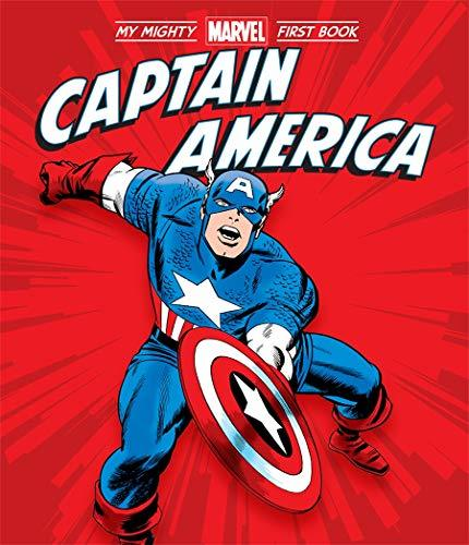 Primary image for Captain America: My Mighty Marvel First Book (A Mighty Marvel First Book) [Board