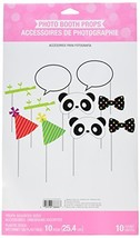 Creative Converting 322161 Assorted Photo Booth Panda-monium Party Props... - $5.12