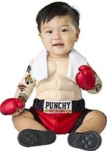 Incharacter Baby Bruiser Boxer Punchy Boxing Infant Halloween Costume 16072 - $26.38