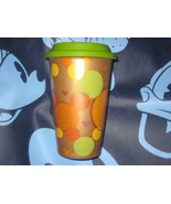DISNEY PARKS MICKEY MOUSE EARS COFFEE CUP. CERAMIC TRAVEL CUP. NEW.  - $19.57