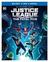 Justice League vs. Fatal Five [Blu-ray + DVD + Digital]