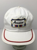Vintage Amana Patch Hat Refrigeration Strapback Cap Made In USA - $44.50
