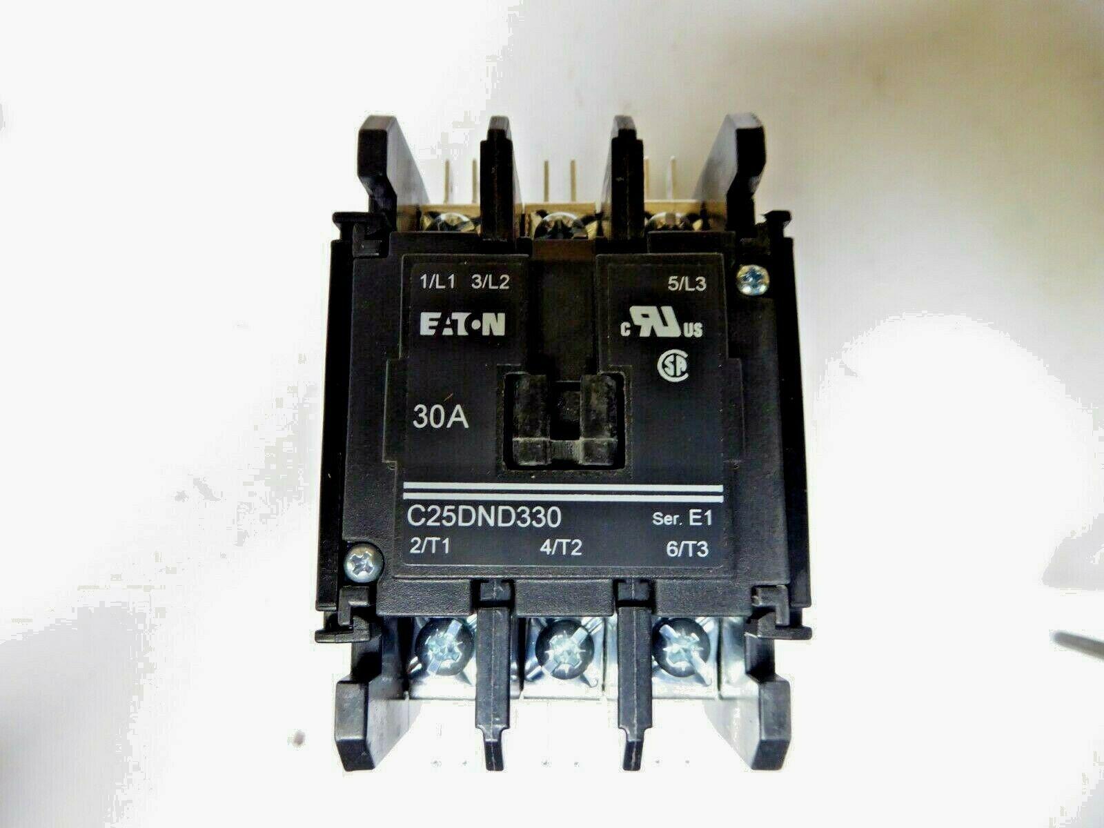 Eaton C25DND330T Definite Purpose Contactor New