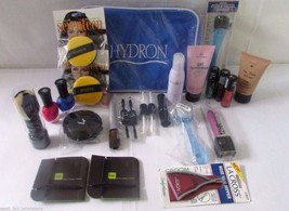 Cosmetic Gift Bag Makeup Kit HBA Nails Foot Care Hard Candy Mojave Lot of 25 - $18.65