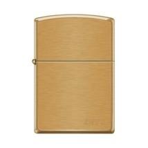 Zippo Lighter - Pipe Lighter With Logo Brushed Brass - 853801 - $26.69