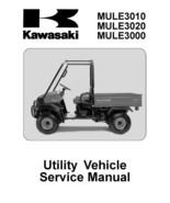 Kawasaki Mule 3000 3010 3020 KAF620 Service Repair Manual 2002 2003 2004 2005 CD - $8.99
