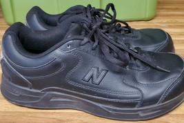 New Balance WW576 Black Walking Shoes Womens Size 11 with Lynco Orthotics - $30.39
