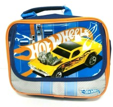 Hot Wheels Roger Dodger Insulated Soft Wall Plastic Lunch Box 73 Charger SE - $36.85
