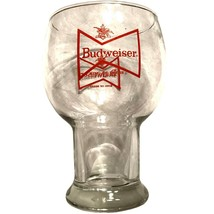 Vintage Budweiser Lager Beer Very Large Glass - $27.97