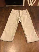 Boys CHAPS Performance Khaki Pants 12 Regular EUC  - $14.85