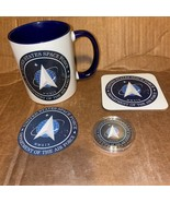 Space Force  Collectors Set - Mug ,Coaster set , patch   - all in one - $41.80