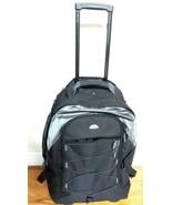 Black Samsonite Rolling Backpack Bag - $89.99