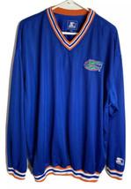 Vintage Starter Men's Florida Gators Ncaa V-Neck Sweatshirt Blue Xl - $29.65