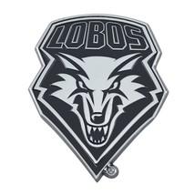 Fanmats NCAA New Mexico Lobos Diecast 3D Chrome Emblem Car Truck RV 2-4 Day Del. - $10.39