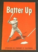 1948 Batter Up - Standard Oil Company California Youth Baseball Book Joe... - $9.89