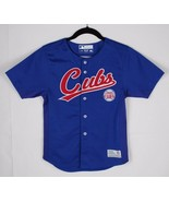 Chicago Cubs Soriano Baseball Jersey TF true fan sew youth kids blue siz... - $18.99
