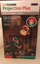 Xmas Lighting Lightshow Christmas Projection Plus Whirl-a-Motion Static ... - $17.77