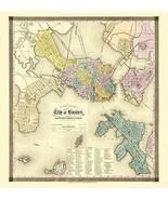 Boston Massachusetts - Dearborn 1839 - 23.00 x 24.21 - $36.58+