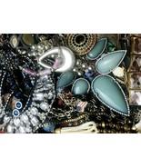 Junk Drawer Jewelry Lot 6.4 lbs Vintage Modern Wear Craft Repurpose Repair  - $39.59