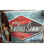 "Genuine Endless Summer Search Of The Perfect Wave Sign NEW 10"" x 13"" - $13.85"