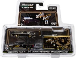 Greenlight Smokey and the Bandit 1980 Trans Am & Silverado Hitch & Tow S... - $29.95