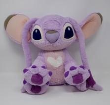 "Disney Parks Lilo & Stitch Girlfriend Angel Pink Purple 14"" Plush Stuffe... - $23.36"