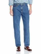 Levi's Strauss 550 Men's Relaxed Fit Straight Leg Jean Medium Stonewash 550-4891 image 1