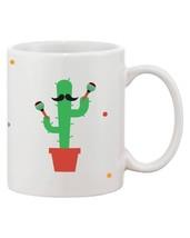 Feliz Cinco De Mayo Funny Deigns Printed 11oz Ceramic Coffee Mug - $14.99